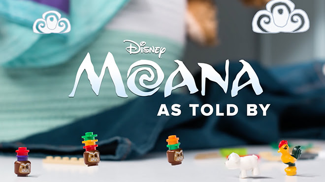 Moana as told by Lego