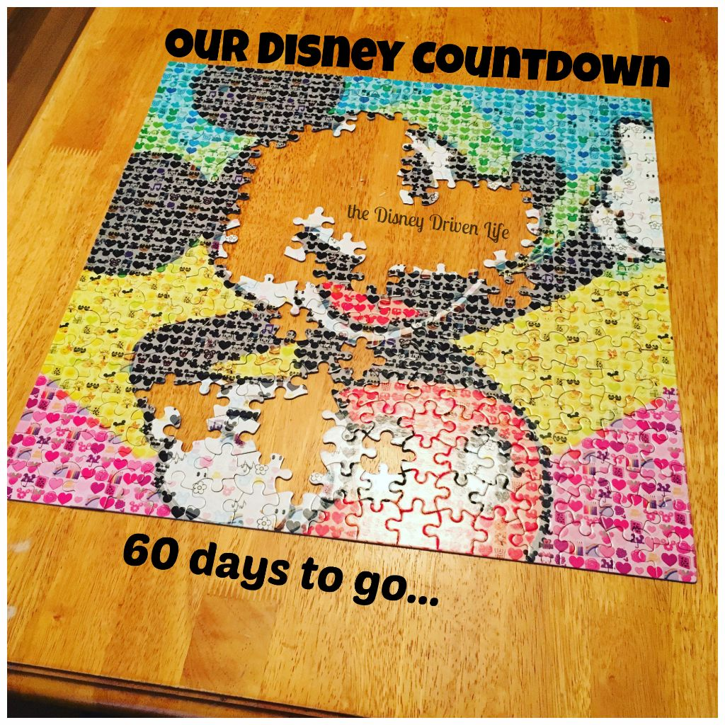 Disney Countdown 60 days