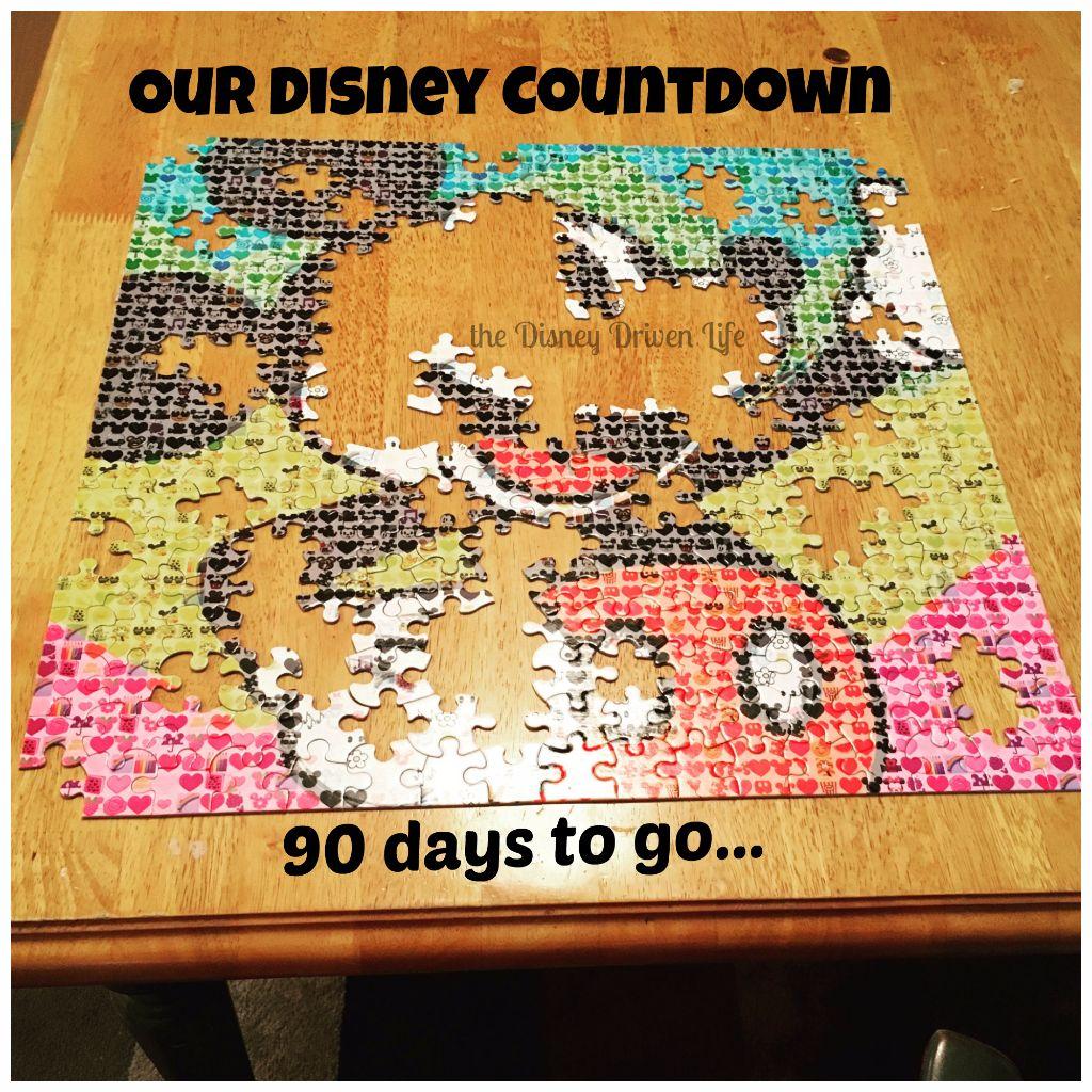 Disney Countdown 90 Days