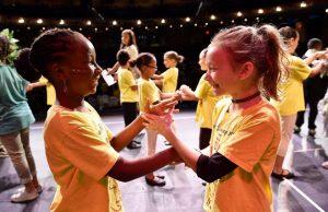 Disney Musicals in Schools Stage