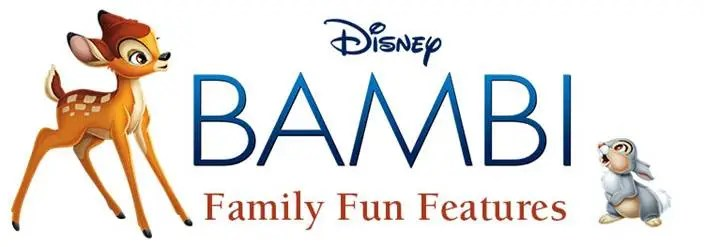 Bambi on BluRay/DVD