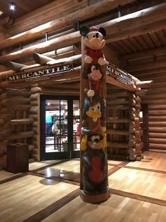 Wilderness Lodge Mercantile Totem Pole the Disney Driven Life