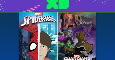 Spider Man & Guardians of the Galaxy Disney XD