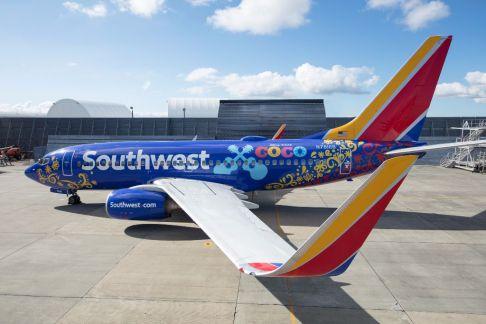 Coco plane. Southwest Airlines. Stephen M. Keller