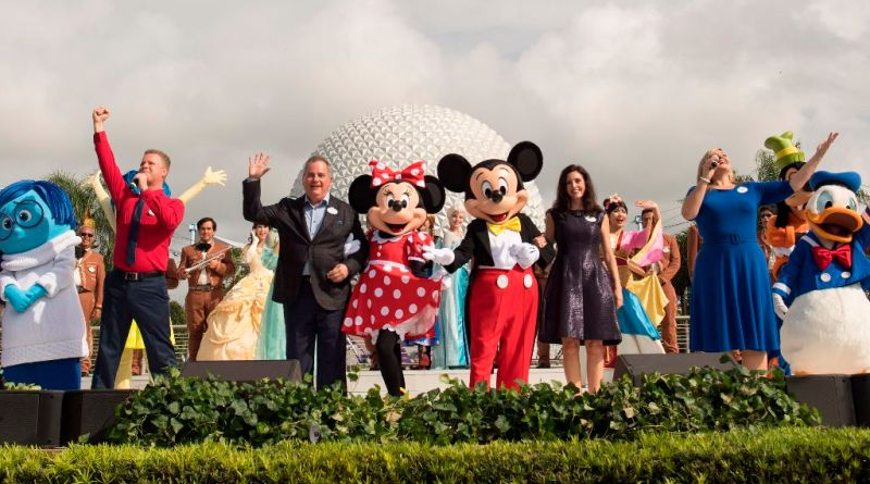 Epcot Celebrates its 35th Anniversary Oct. 1, 2017
