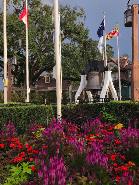 Liberty Tree Bell Magic Kingdom