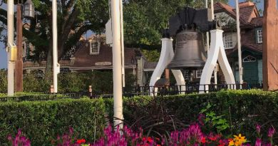 Liberty Tree Bell Magic Kingdom
