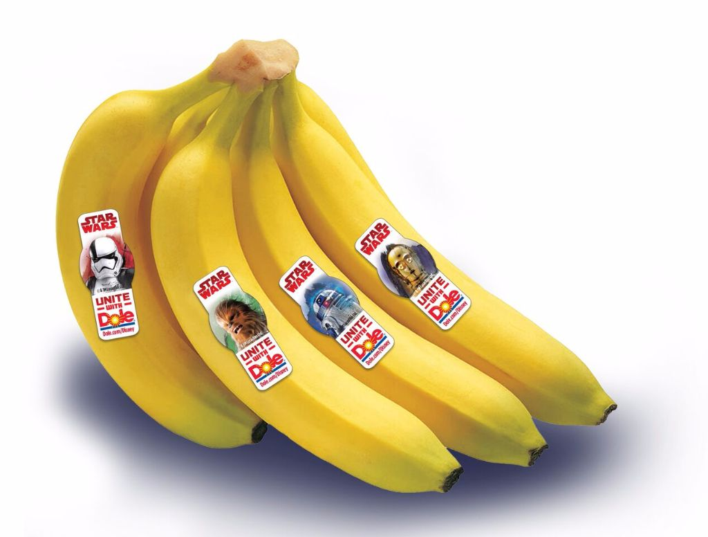 star wars healthy galaxy dole last jedi bananas