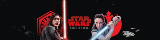 Star Wars The Last Jedi Games Banner