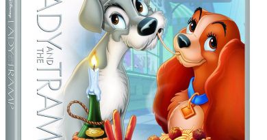 Lady and Tramp DVD BluRay