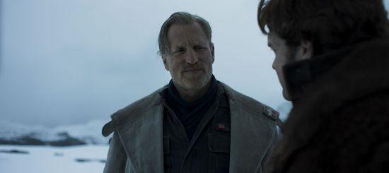 Woody Harrelson is Beckett in SOLO: A STAR WARS STORY.
