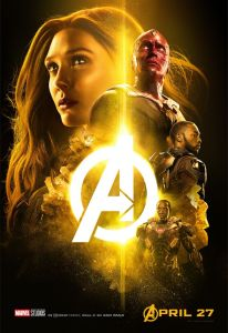 Avengers Infinity War Scarlett Witch