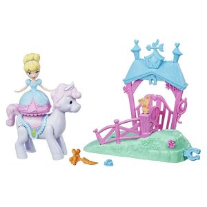 DISNEY PRINCESS LITTLE KINGDOM MAGICAL MOVERS MINI PLAYLET