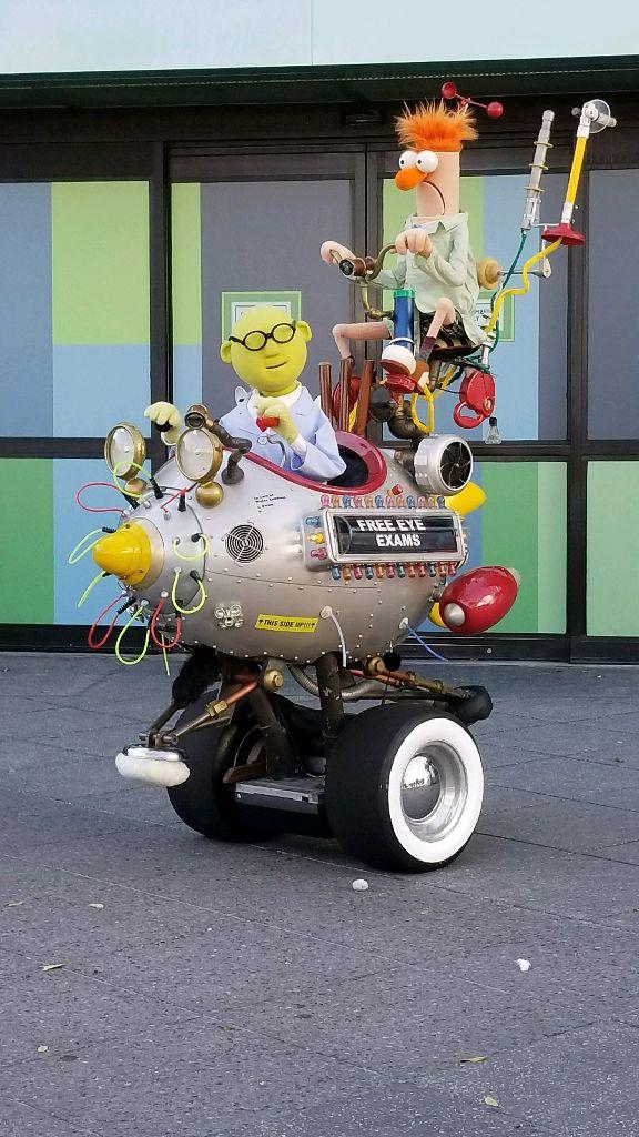 Beaker Professor Honeydew Epcot Muppets