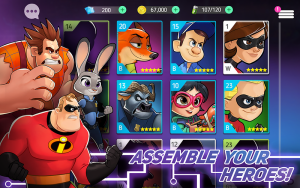 DIsney Heroes Battle