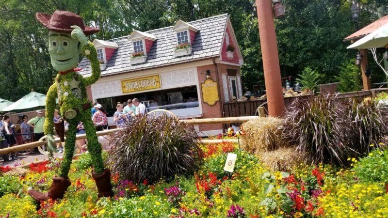 Woody - Epcot - Flower Garden Festival 2018