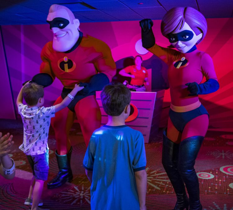 Pixar Play Zone Incredibles