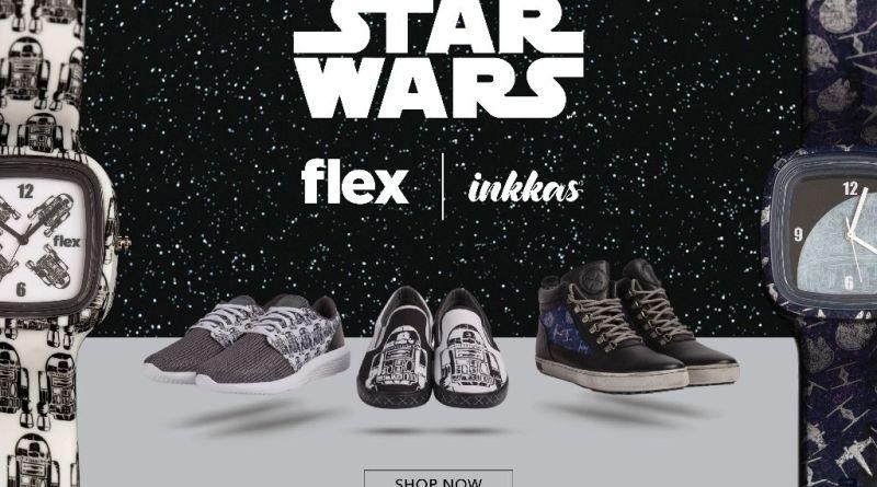 star wars Flex Watches and Inkkas Worldwear footwear