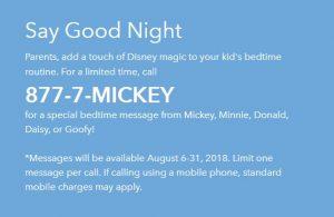 Good Night Mickey Phone