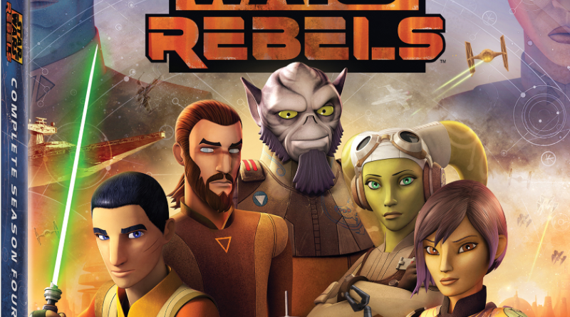 Star Wars Rebels Season 4 DVD