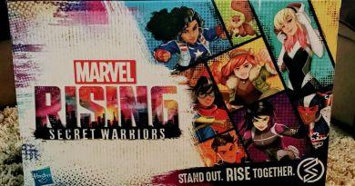 Marvel Rising secret warriors box