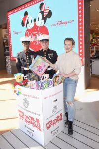 Hillary Duff Toys for Tots