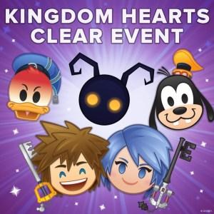 kingdom hearts clear event emoji blitz disney
