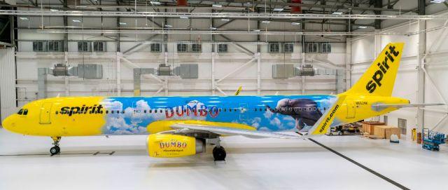 dumbo spirit airlines