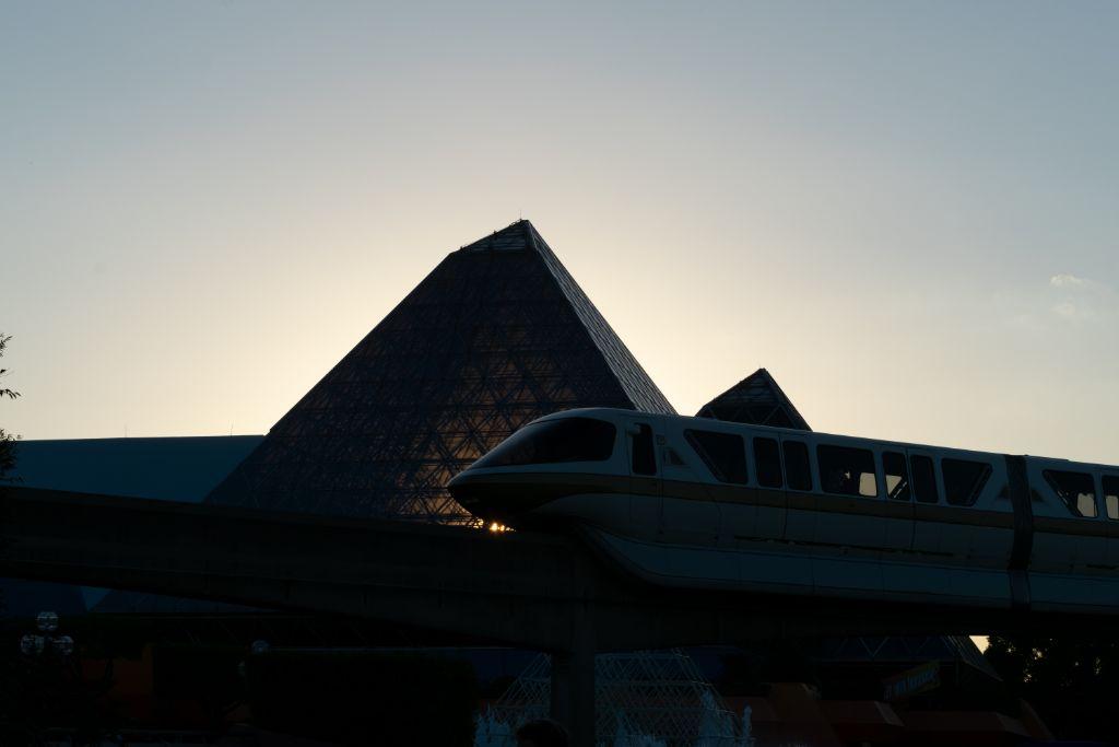 Golden Hour Monorail - unedited