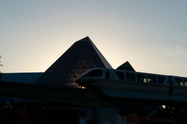 Golden Hour Monorail - unedited
