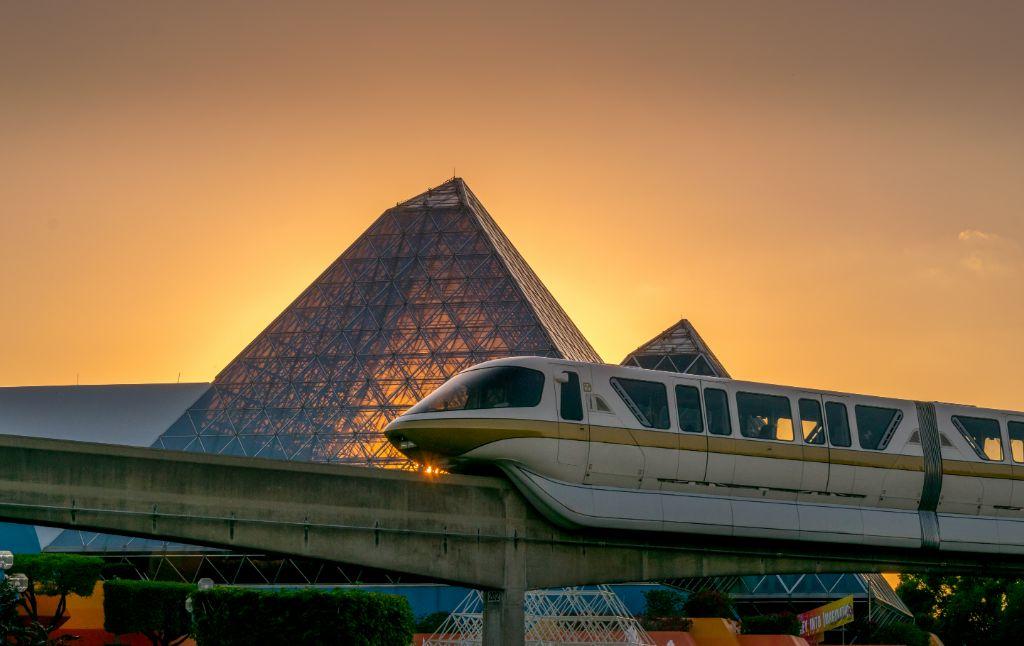 Golden Hour Monorail