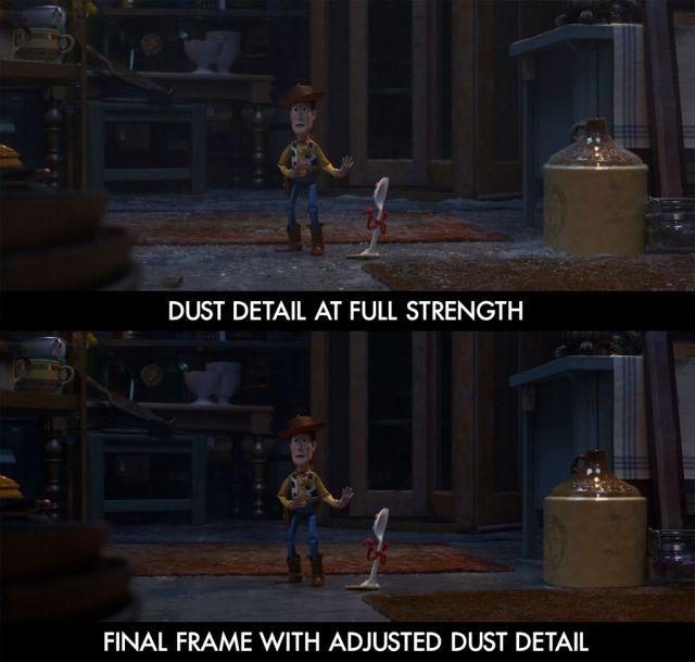 toy story 4 dust comparison