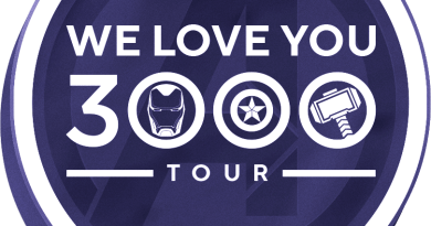 we love you 3000 tour marvel avengers