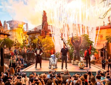 Star Wars: Galaxy's Edge Dedication Moment at Disney's Hollywood