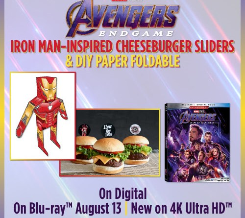 Iron Man-Inspired Slider Recipe and DIY