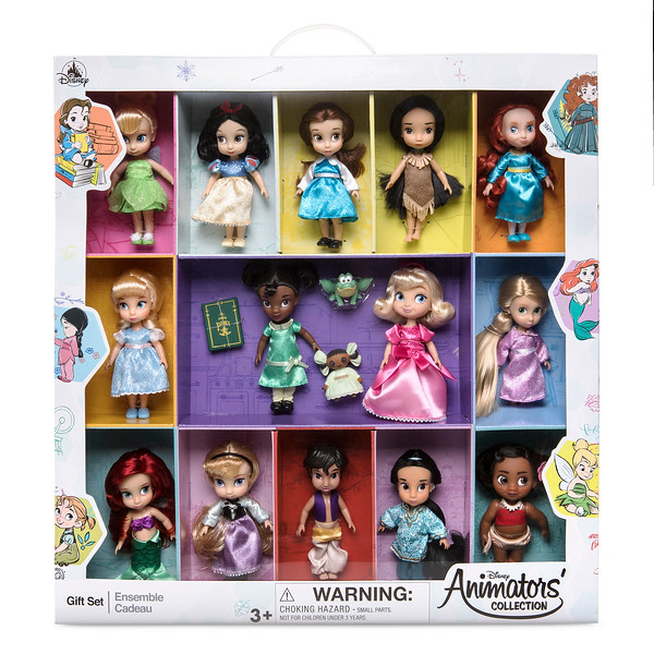 Disney Animators Collection 5 Inch Mini Doll Gift Set