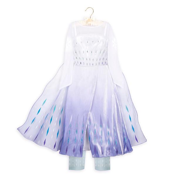 Elsa Snow Queen Deluxe Costume for Kids