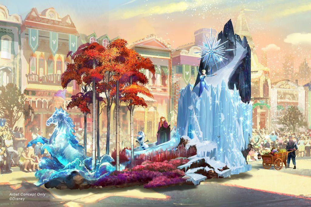 """Magic Happens"" Parade at Disneyland Park"