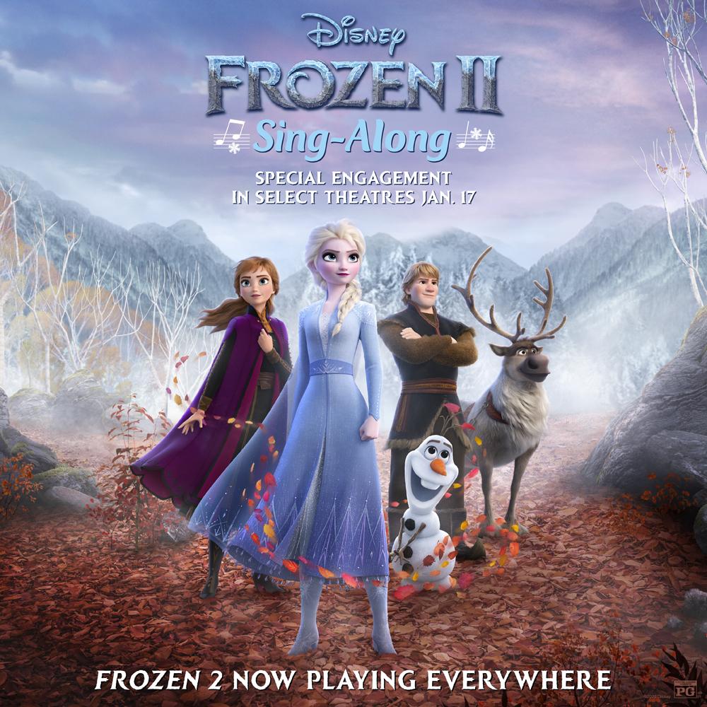 frozen 2 sing along