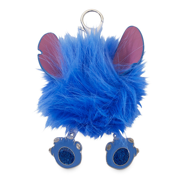 Stitch Fuzzy Bag Charm