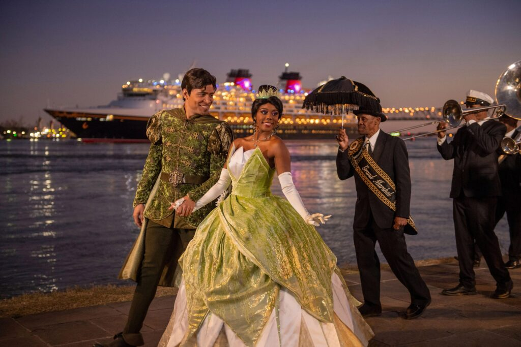 Disney Cruise Line New Orleans Tiana Prince Naveen
