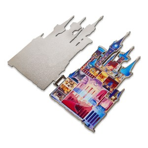 Cinderella Castle Pin – Disney Castle Collection