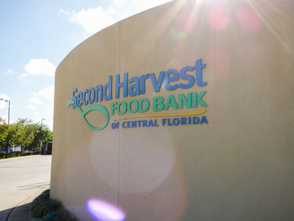 Walt Disney World Resort Donates to Second Harvest Food Bank