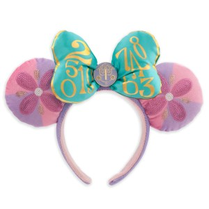 Minnie Mouse- The Main Attraction Disney It's A Small World Ear Headband for Adults