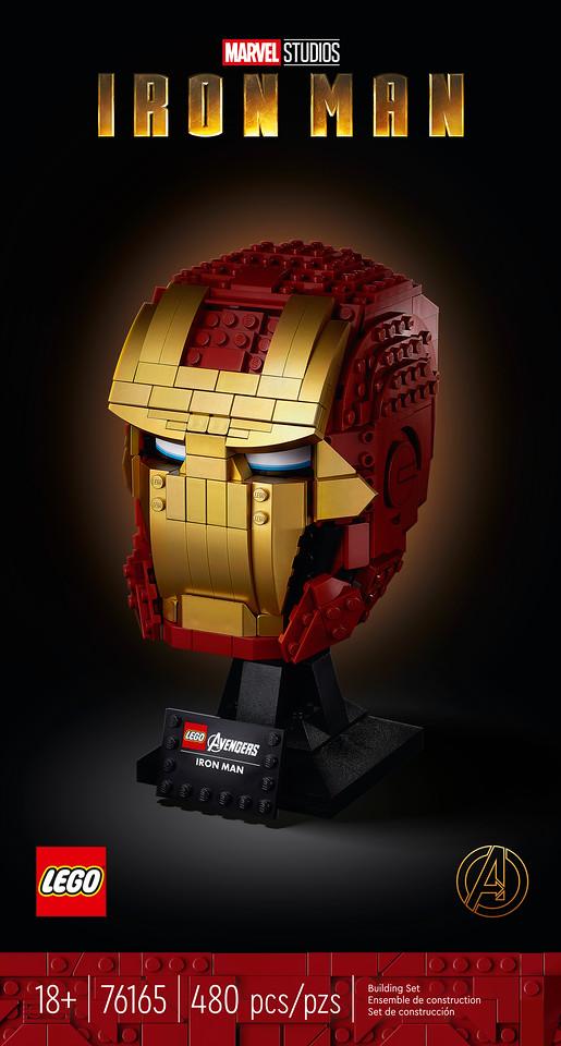 LEGO® Marvel Avengers Iron Man Helmet 76165 LEGO Brick Iron Man Mask