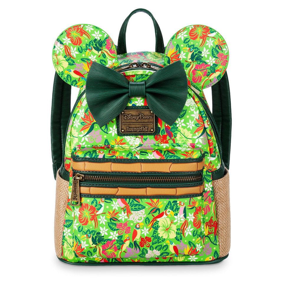 Minnie Mouse- The Main Attraction Enchanted Tiki Room Mini Backpack by Loungefly