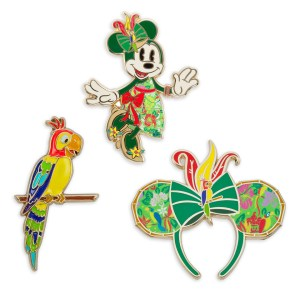 Minnie Mouse- The Main Attraction Enchanted Tiki Room Pin Set