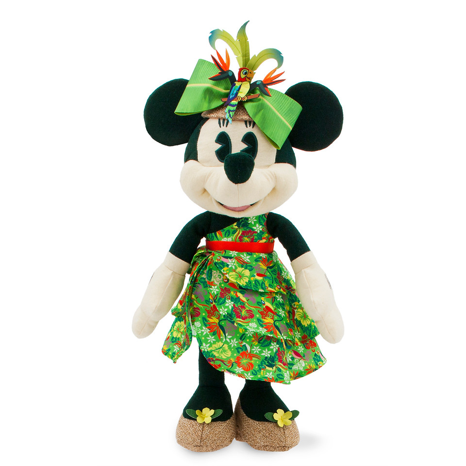 Minnie Mouse- The Main Attraction Enchanted Tiki Room Plush