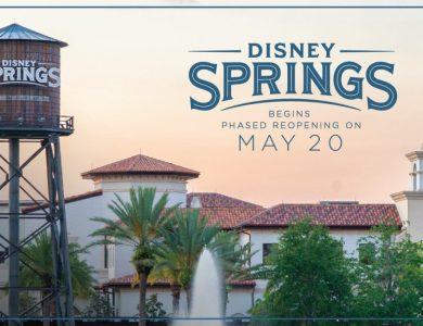 Disney Springs Reopen 5/20