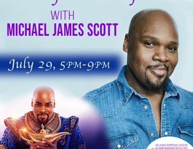 Michael James Scott Adult Musical Theater Class Orlando Rep